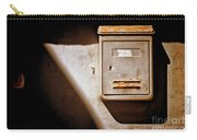 Old Mailbox With Doorbell Carry-all Pouch