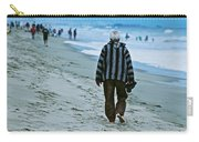 Old Man And The Beach Carry-all Pouch