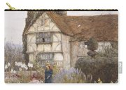 Old Manor House Carry-all Pouch by Helen Allingham
