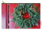 Old Mill Of Guilford Door Wreath Carry-all Pouch