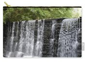 Old Mill Waterfall Carry-all Pouch