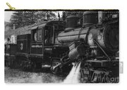 Old Number Three_climax Locomotive_durbin Wv _bw Carry-all Pouch