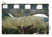 Old Olive Tree Under The Pond De Gard France Carry-all Pouch