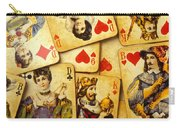 Old Playing Cards Carry-all Pouch