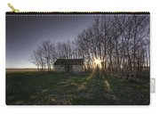 Old Prairie Homestead At Sunset Carry-all Pouch