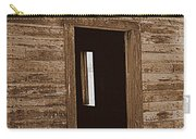 Old Ranch Hand Cabin Entry Carry-all Pouch
