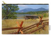 Old Ranch Wagon Carry-all Pouch