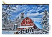 Old Red Barn Hdr Carry-all Pouch