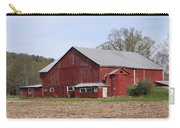 Old Red Barn With Short Silo Carry-all Pouch