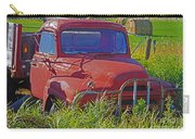 Old Red Truck Carry-all Pouch