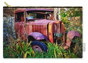 Old Rusting Truck Carry-all Pouch