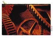 Old Rusty Gears Carry-all Pouch