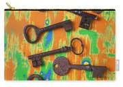 Old Rusty Keys Carry-all Pouch