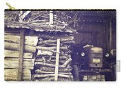 Old Shed Carry-all Pouch by Joana Kruse