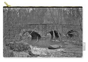 Old Stone Bridge Over The Unami Creek - Sumneytown Pa Carry-all Pouch