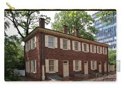 Old Town Philadelphia Brownstone House Carry-all Pouch