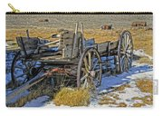 Old Wagon At Bodie Ghost Town Carry-all Pouch