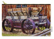 Old Wagon Bodie Ghost Town Carry-all Pouch