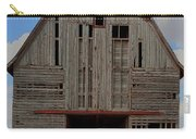 Old Wagon Older Barn Panoramic Stitch Carry-all Pouch