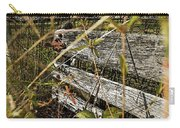 Old Weathered Gate Photoart II Carry-all Pouch