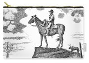 Old-west-art-cowboy Carry-all Pouch
