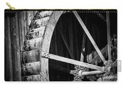 Old West Water Mill 2 Carry-all Pouch by Darcy Michaelchuk
