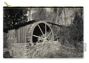 Old West Water Mill 3 Carry-all Pouch by Darcy Michaelchuk