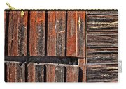 Old Wooden Wall Carry-all Pouch