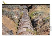 Old Wooden Water Pipeline - Rural Idaho Carry-all Pouch