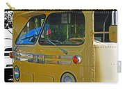 Old Yellow Transit Bus Abstract Carry-all Pouch