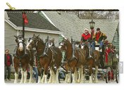Olde Tyme Travel Clydesdales Carry-all Pouch