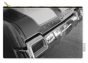 Olds Cs In Black And White Carry-all Pouch