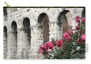 Oleander And Colosseum Carry-all Pouch