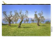 olive grove on Lake Gardan Carry-all Pouch