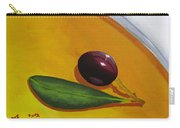 Olive In Olive Oil Carry-all Pouch