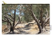 Olive Trees At Sebastia Carry-all Pouch