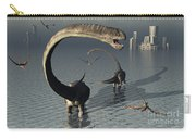 Omeisaurus Sauropod Dinosaurs Cooling Carry-all Pouch