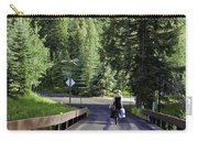 On A Country Road - Vail Carry-all Pouch