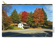 On A West Virginia Road Painted Carry-all Pouch