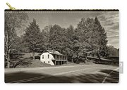 On A West Virginia Road Sepia Carry-all Pouch