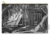 On Evergreen Platation Black And White Carry-all Pouch