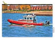 On Patrol At The Erie Basin Marina  Carry-all Pouch