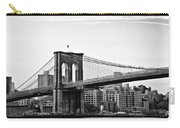 On The Brooklyn Side Carry-all Pouch by Bill Cannon