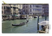On The Canal In Venice Carry-all Pouch