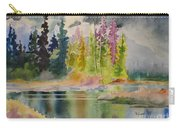 On The Colourful Pond Carry-all Pouch