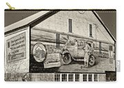 On The Lincoln Highway Sepia Carry-all Pouch