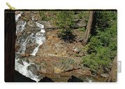 On The Rocks Glen Alpine Creek And Falls Carry-all Pouch