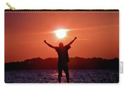 On Top Of The World Carry-all Pouch by Trish Tritz