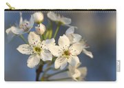 One Fine Morning In Bradford Pear Blossoms Carry-all Pouch