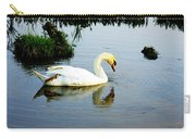 One Foot At Ease Swan Carry-all Pouch